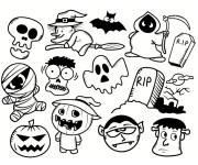 Coloriage et dessins gratuit Halloween 59 à imprimer