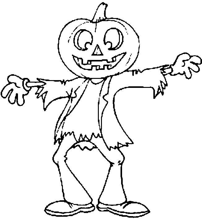 Coloriage et dessins gratuits Halloween à décorer à imprimer