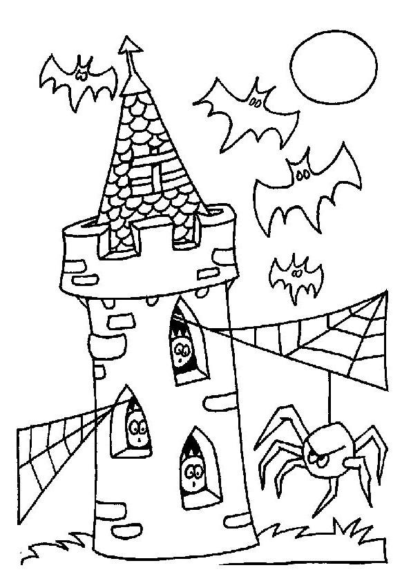 Chauve Souris Dessin Halloween.Coloriage Halloween Chauve Souris Dessin Gratuit A Imprimer