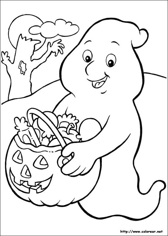 Coloriage et dessins gratuits Halloween Disney à imprimer