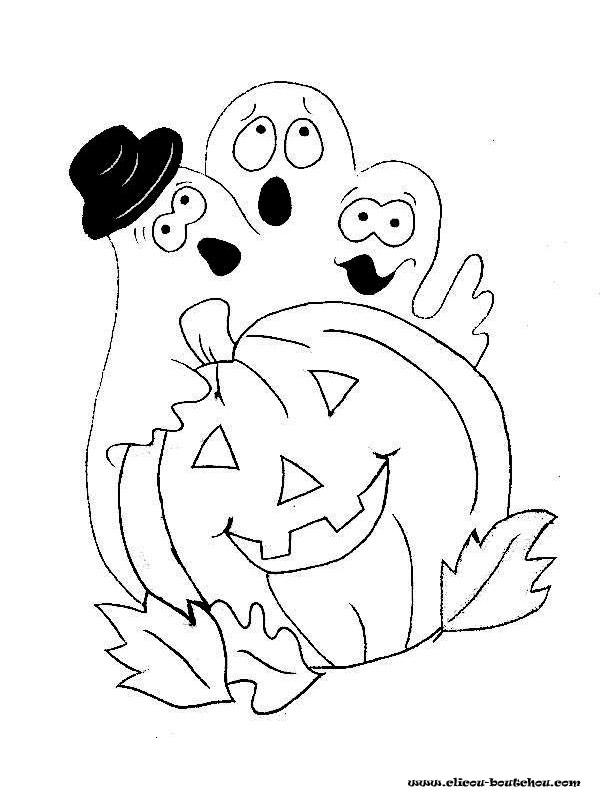 Coloriage et dessins gratuits Halloween en ligne à imprimer
