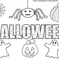 Coloriage et dessins gratuit Halloween enfants à imprimer