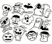 Coloriage Halloween pour enfant