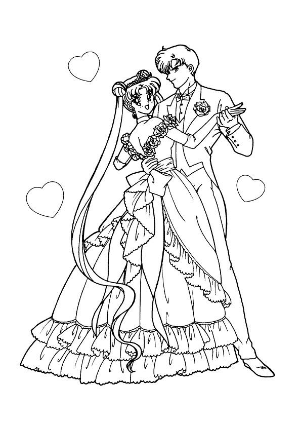 coloriage couple en dansant mariage dessin gratuit imprimer. Black Bedroom Furniture Sets. Home Design Ideas