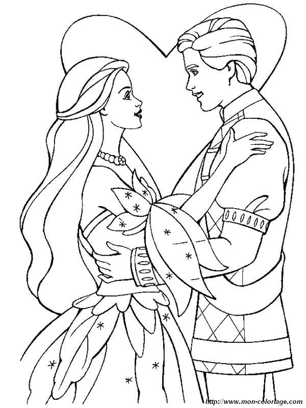Coloriage et dessins gratuits Mariage maternelle à imprimer