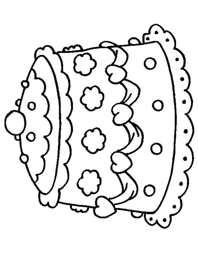 Coloriage un petit g teau de mariage dessin gratuit imprimer - Coloriage de mariee ...