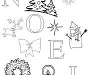 Coloriage dessin  Noel 1