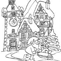Coloriage et dessins gratuit Noel 15 à imprimer