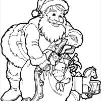 Coloriage et dessins gratuit Noel 35 à imprimer