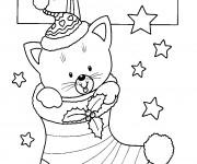 Coloriage dessin  Noel 8