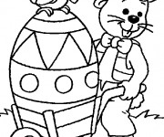 Coloriage Paques 11