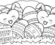 Coloriage Paques 3