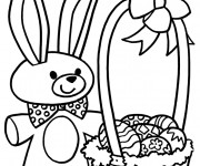 Coloriage Paques 4