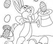 Coloriage Paques 6