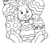 Coloriage Paques 7