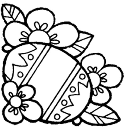 Coloriage Pâques En Couleur Dessin Gratuit à Imprimer