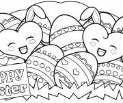 Coloriage et dessins gratuit Pâques maternelle à imprimer
