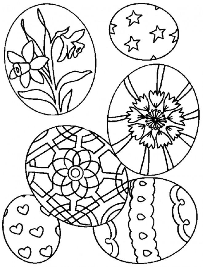 Coloriage et dessins gratuits Pâques pour fêter à imprimer