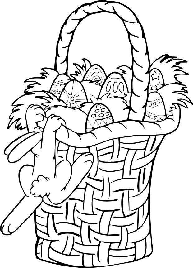 Coloriage et dessins gratuits Pâques pour les enfants à imprimer