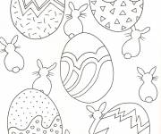 Coloriage Pâques pour les petits