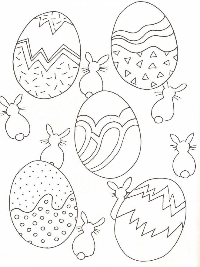 Coloriage et dessins gratuits Pâques pour les petits à imprimer