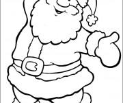Coloriage et dessins gratuit Joyeux Noël à imprimer