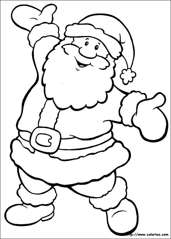 Coloriage et dessins gratuits Joyeux Noël à imprimer