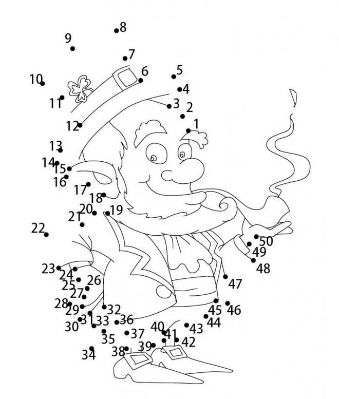 Coloriage et dessins gratuits Saint-Patrick à compléter à imprimer