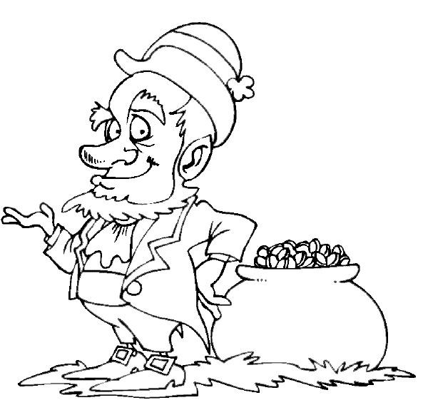Coloriage et dessins gratuits Saint-Patrick à télécharger à imprimer