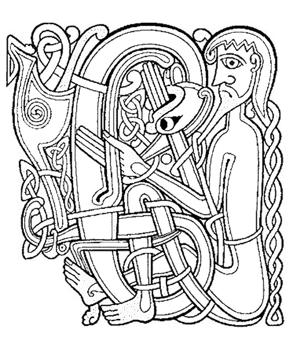 Coloriage et dessins gratuits Saint-Patrick Artistique à imprimer