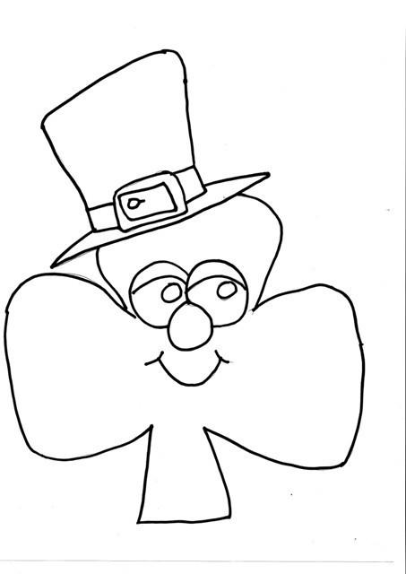 Coloriage et dessins gratuits Saint-Patrick au crayon à imprimer