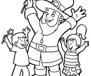 Coloriage et dessins gratuit Saint-Patrick maternelle à imprimer