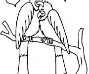 Coloriage Couple d'Oiseaux en amour