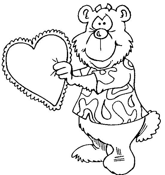 Coloriage et dessins gratuits Our amoureux à imprimer