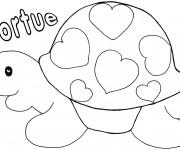 Coloriage et dessins gratuit St-Valentin 21 à imprimer