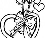 Coloriage dessin  St-Valentin 8