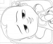 Coloriage et dessins gratuit Bébé Boss mignon à imprimer