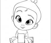 Coloriage et dessins gratuit L'Amoureuse de Bébé Boss à imprimer