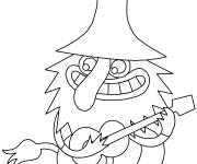 Coloriage Les trolls 24