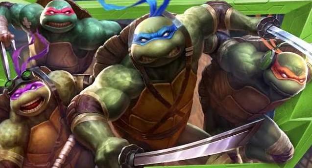 Adolescente mutante NINJA TURTLES: Leonardo, Donatallo, Raphael et Michelangelo rejoignent SMITE en tant que skins de personnages