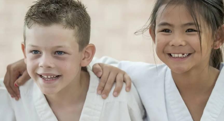 Avantages des arts martiaux pour les enfants