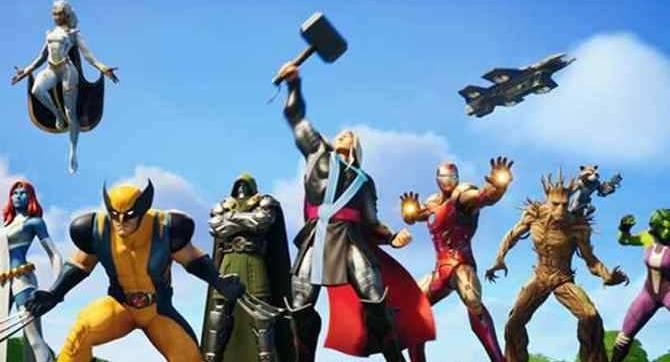 JEUX VIDÉO: Les héros et les méchants de Marvel combattent Galactus dans une nouvelle saison épique de FORTNITE: NEXUS WAR