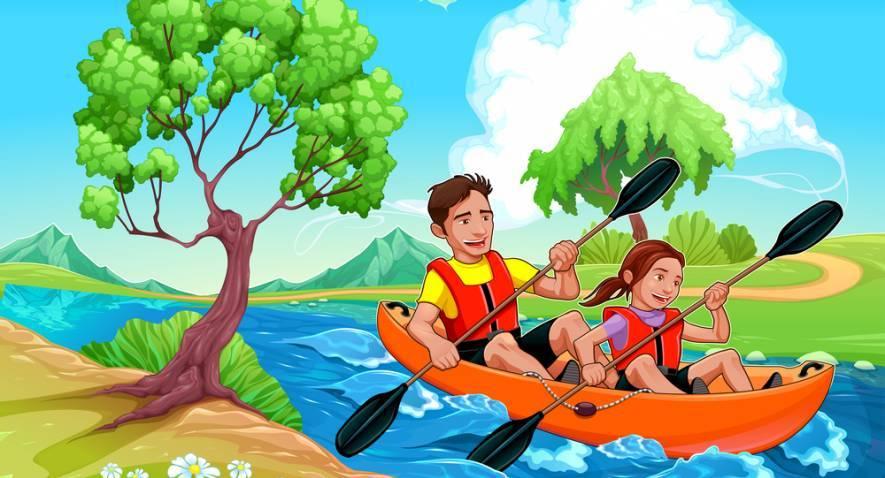 Mon Kayak, la merveille de la vie