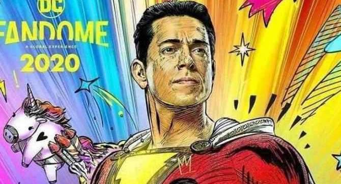 SHAZAM! La fureur du dieu: le réalisateur David F.Sandberg partage une affiche Hi-Res à ce FanDome DC amusant