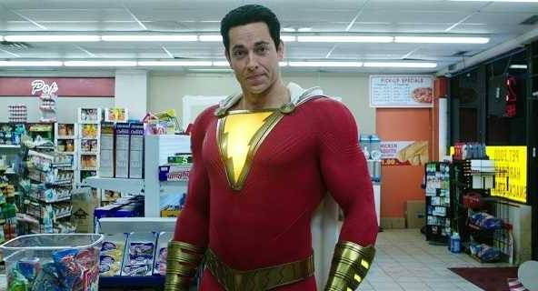 SHAZAM! La star Zachary Levi célèbre le premier anniversaire du film avec une nouvelle photo sympa du super-héros DC