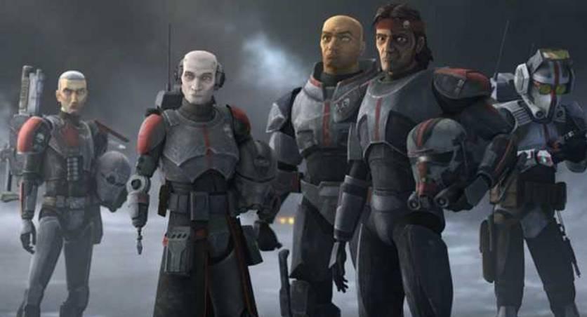 STAR WARS: Le mauvais lot: Découvrez Clone Force 99 avant la première de la série sur Disney +