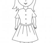 Coloriage et dessins gratuit Ado 1 à imprimer