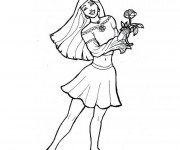 Coloriage et dessins gratuit Ado Adolescente à imprimer