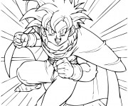 Coloriage Ado Dragon Ball Z