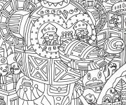 Coloriage dessin  Adulte 8
